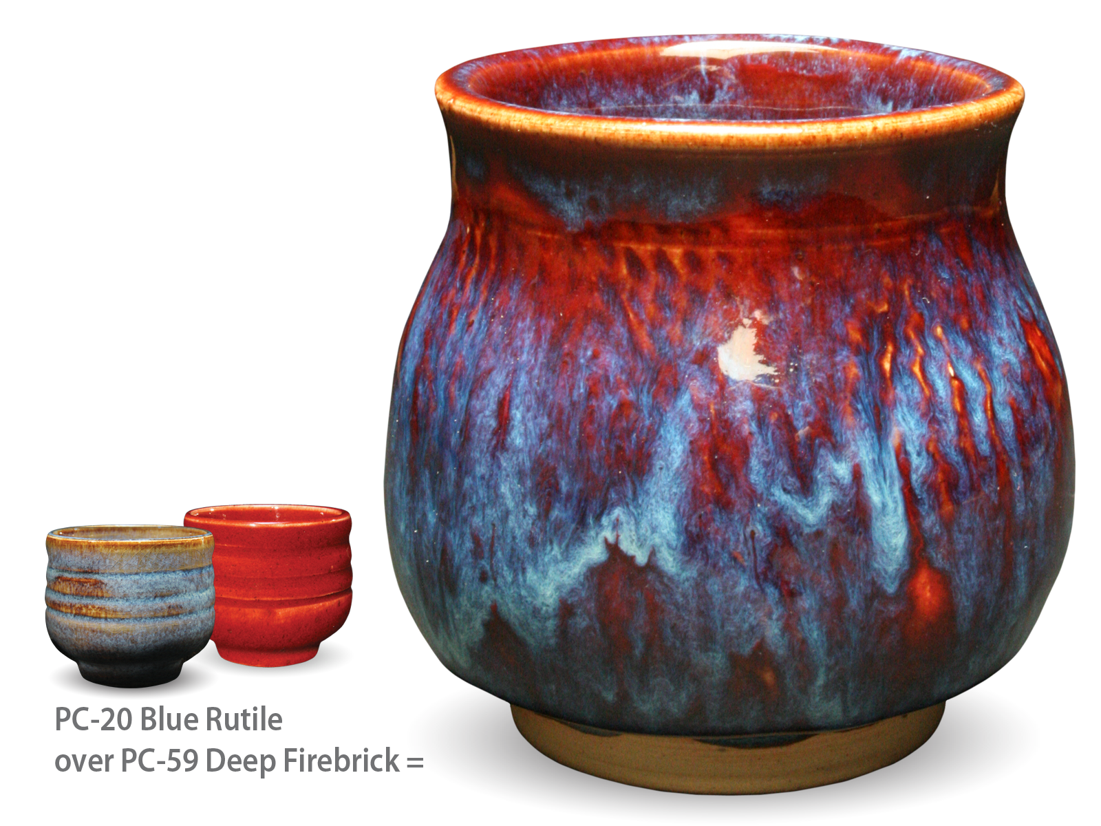 deep firebrick - may mid-fire glaze of the month