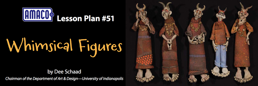 Whimsical Figures (AMACO Lesson Plan #51)