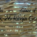 Laguna Kingin Gold Silver: August Raku Glaze of the Month