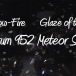 Spectrum Meteor Shower: August Low-Fire Glaze of the Month