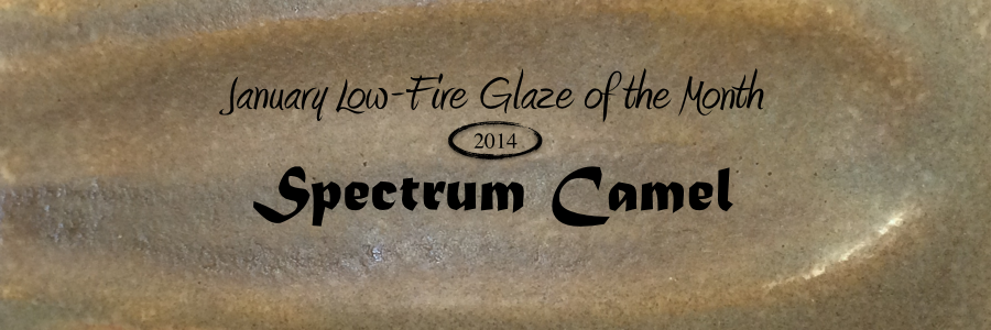 Spectrum 909 Camel January Low Fire Glaze Of The Month Brackers
