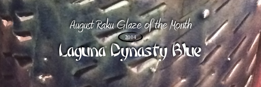 Raku Glaze of the month – Dynasty Blue