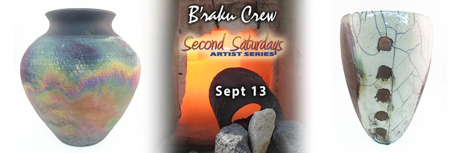 September Second Saturday – B'Raku!!!!