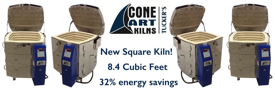 NEW: a Reliable, Even-Firing, True Cone 10 SQUARE kiln