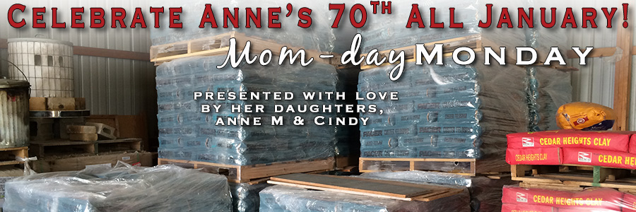Anne's 70th Specials – Mom-day Monday #2