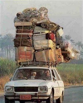 overloaded vehicles 2320