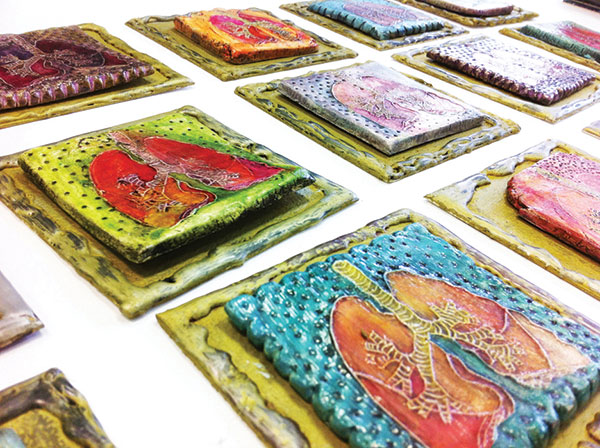 Hollie Rice Lung tiles
