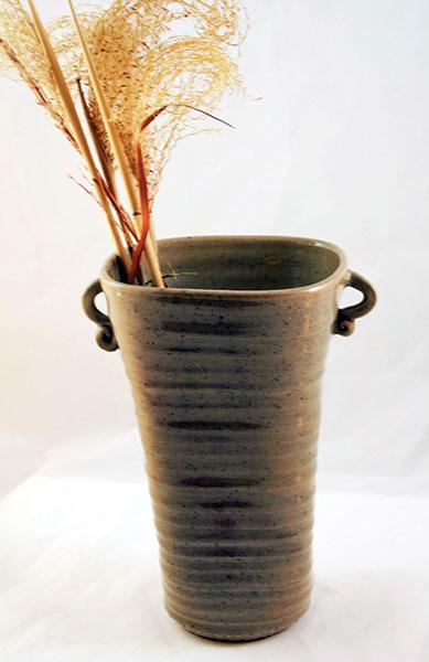 Tall Celadon Vase