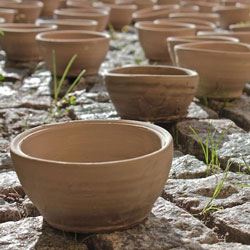 small unfired bowls - made & photographed by Heyjoo Yang