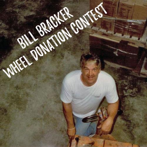 "William ""Bill"" Bracker annual wheel donation application request form"