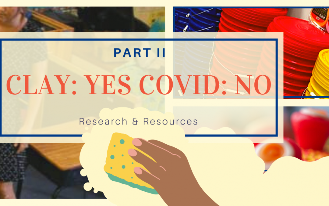 Clay: Yes // Covid: No, part two…research & resources