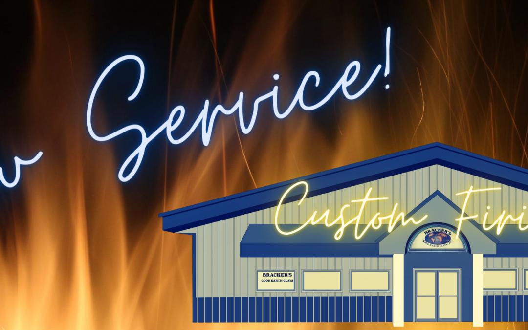 Announcing Bracker's Custom Firing!