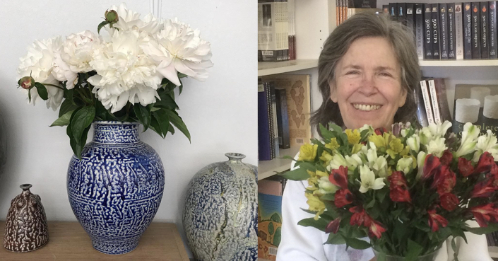 Congratulations on 50 years of clay, Anne Bracker!